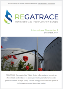 REGATRACE newsletter 1